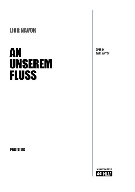 An Unserem Fluss (full score) [Hard Copy]