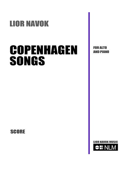 Copenhagen Songs [Hard Copy]