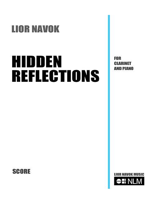 Hidden Reflections - für Klarinette und Klavier (Partitur + Part) [PD