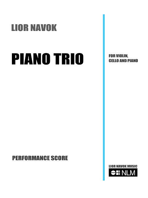 Piano Trio (full score) [PDF download)