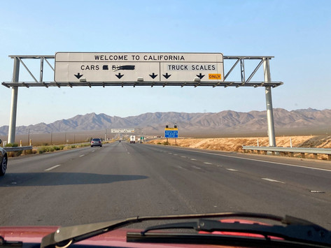 Day 15 - California and Home Again - September 2, 2020
