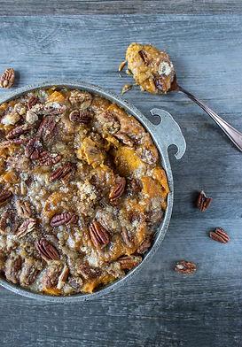 Homestead Sweet Potato Casserole