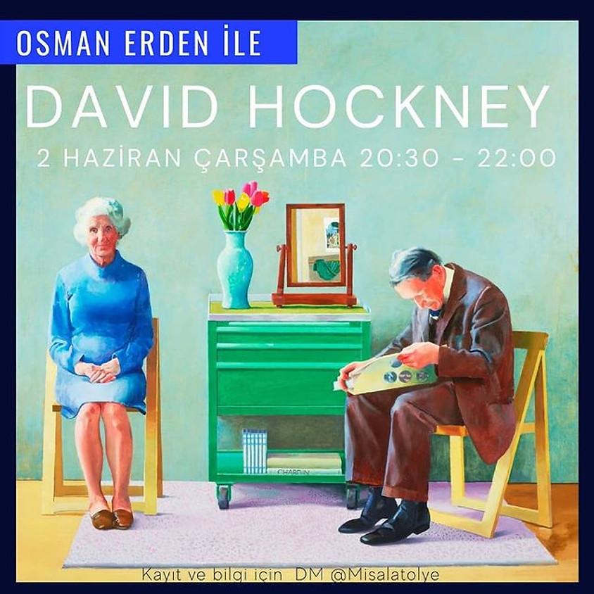Osman Erden ile David Hockney