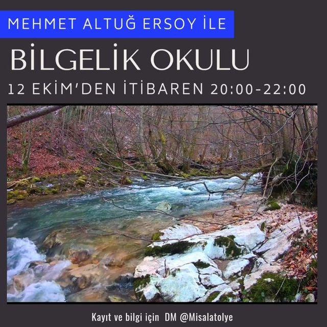 Mehmet Altuğ Ersoy ile Bilgelik Okulu