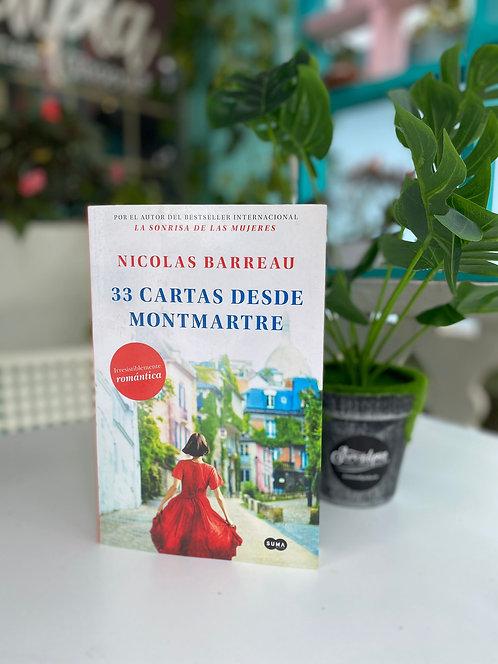 33 cartas desde Montmartre - Nicolas Barreau