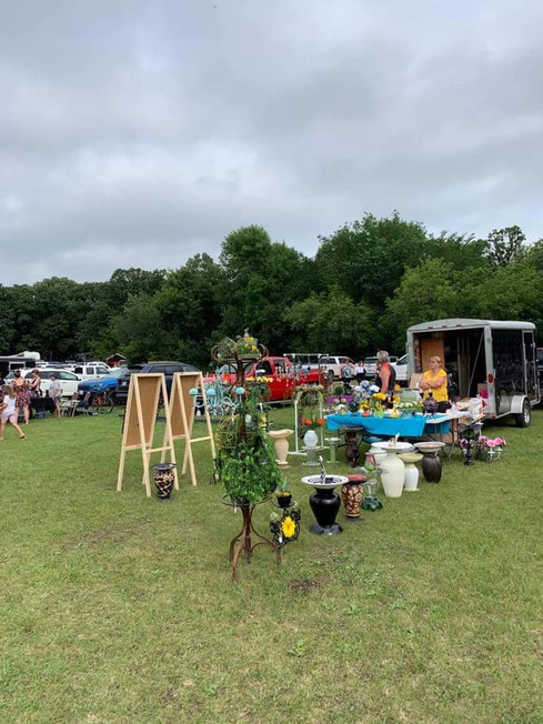 The area Farmer's Market is in its 10th season with many wonderful local vendors.