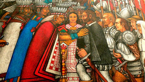 La Malinche: she wasn't a certified translator, but her role translating for the Spanish was crucial