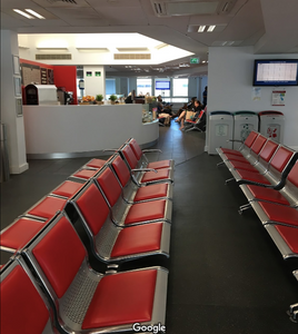 Seating Area at Croydon Premium Service Centre