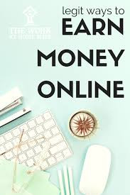 Earn money online