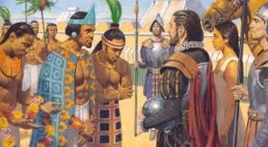 501 years since the meeting of Moctezuma and Cortés. Death, destruction, and a plumed serpent.