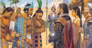 Cortes meets Moctezuma