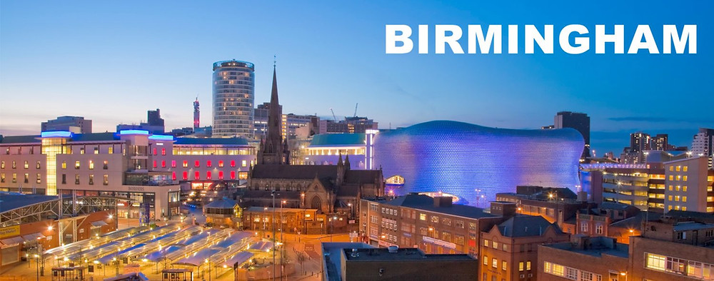 A picture of Birmingham UK
