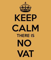 No VAT certified translation
