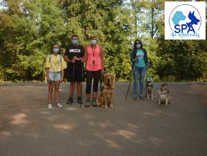 Deuxième randonnée canine du 13/09/2020