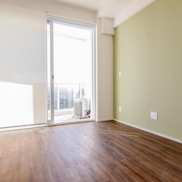 Apartamento com ar condicionado