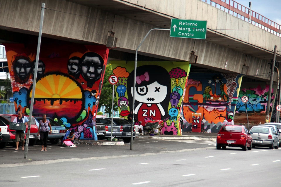 Grafite: Museu a Ceu aberto na zona norte de São Paulo