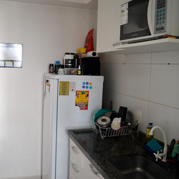Cozinha 100% montada