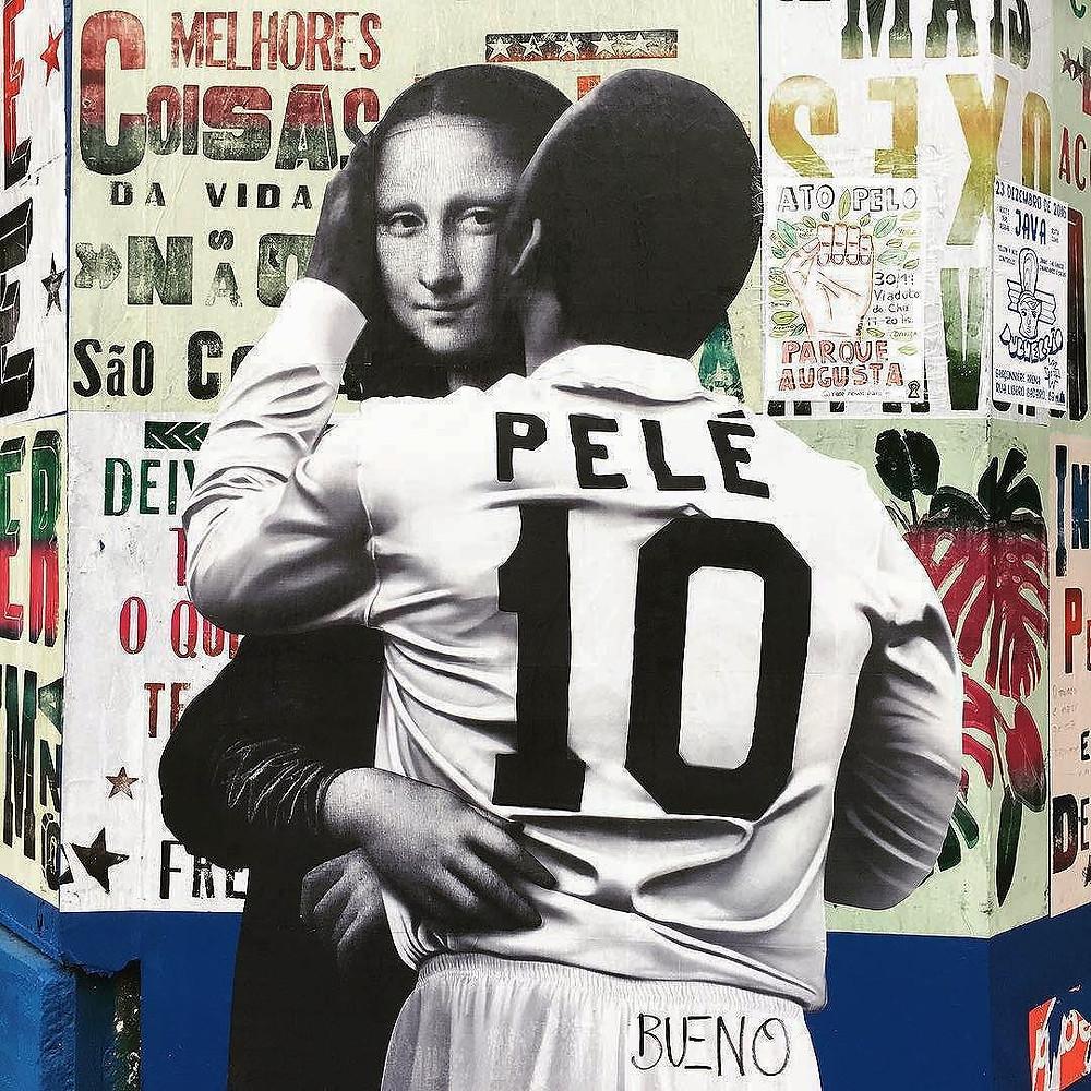 Grafite: Luis Bueno e o Pele Beijoqueiro