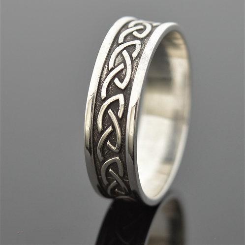 Celtic Love Knot Wedding Band
