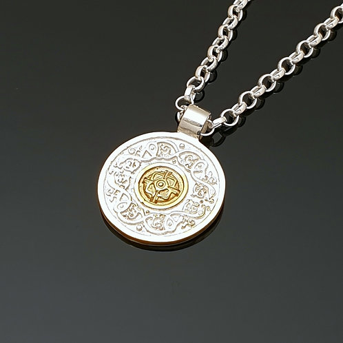 Silver and Gold Ardagh Pendant