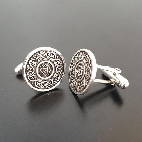 Sterling Silver Ardagh Cufflinks
