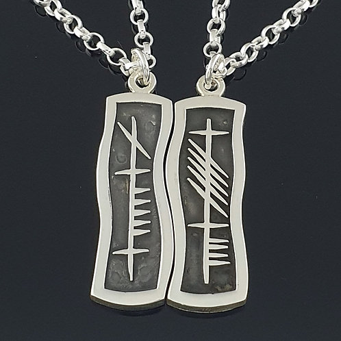 Anam Cara Ogham Necklace Set