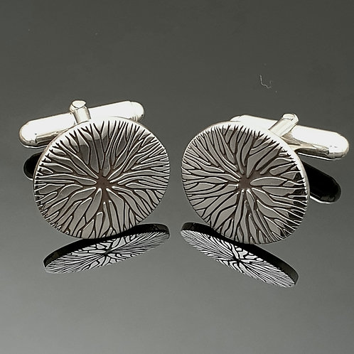 Sterling Silver Tree of Life Cufflinks