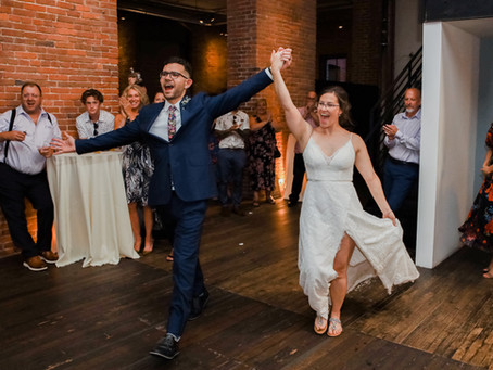 A Swinging Celebration for Stefan & Katherine at AXIS
