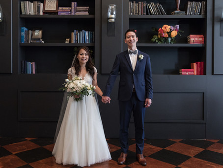 Forever eva: Jessica and Pat at AXIS Pioneer Square