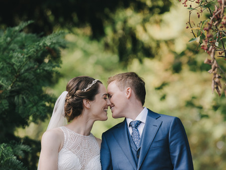 A fall showstopper at the Arboretum: Cole and Katherine