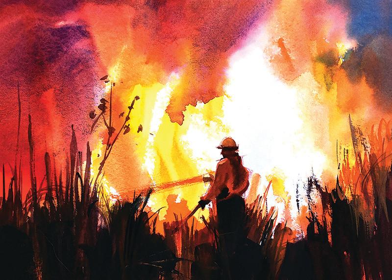 Hot Spot Fire