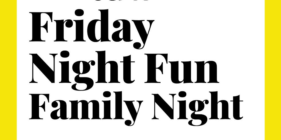 Virtual Friday Night Fun-Family Fun Night 6:15pm