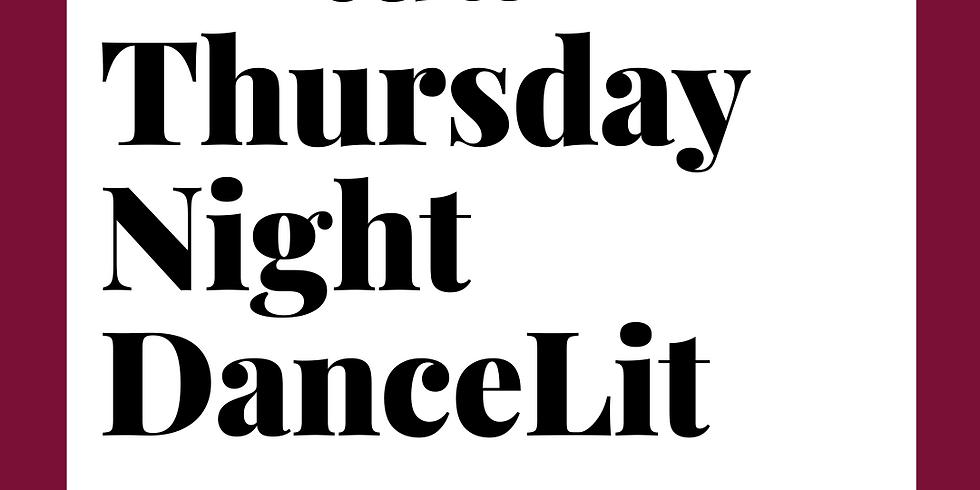 Virtual DanceLit Thursday 6:15pm