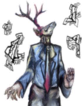 East L.A. Deer Clan Digital Art June 201