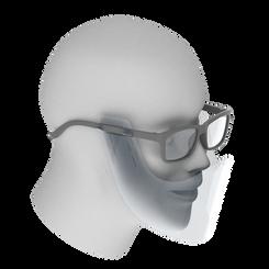 眼鏡装着型マウスシールド