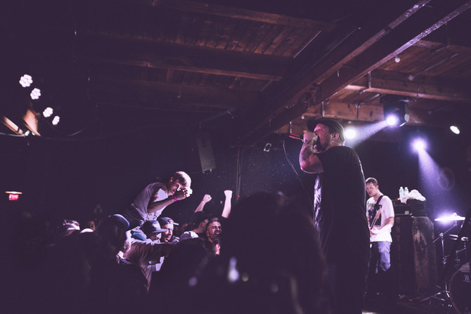 Getting Sweaty in Regina with Comeback Kid and Co.