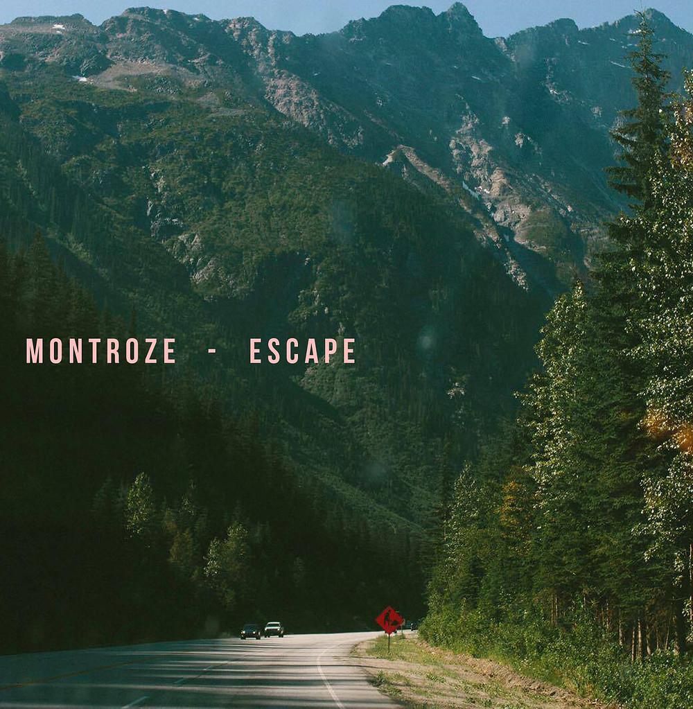 """Isha Shah Photography - Montroze """"Escape"""" EP Album Artwork"""