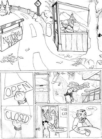 Thumbnail Drawings, Issues #3-4