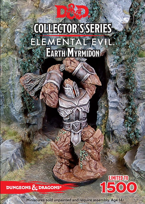 D&D Collectors Series Temple of Elemental Evil Earth Myrmidon