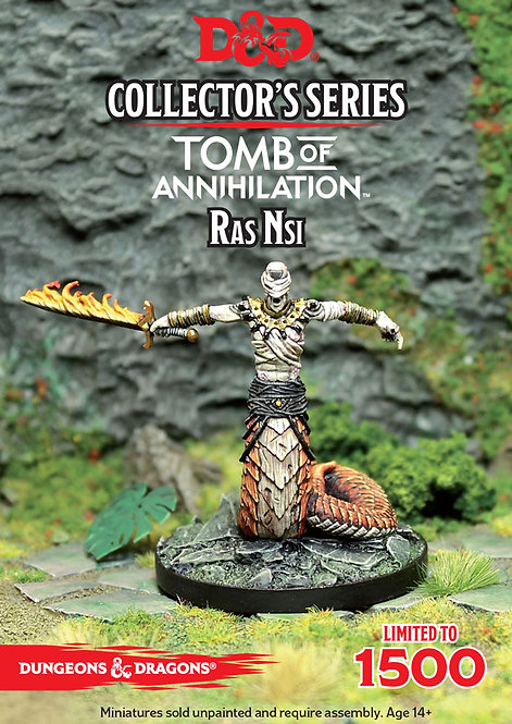 Dungeons Dragons Collector's Series Tomb of Annihilation Ras Nsi Limited