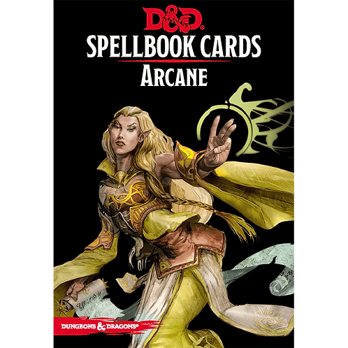 Dungeons and Dragons: Spellbook Cards - Arcane