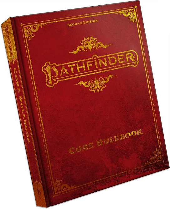 Pathfinder RPG - Core Rulebook 2nd Special Edition