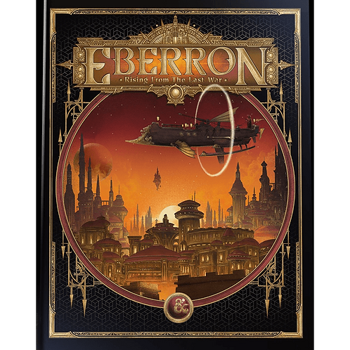 D&D Eberron: Rising From the Last War - Adventure Book (Alternate Cover)