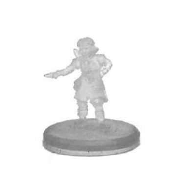 HALFLING FEMALE BARD (INVISIBLE)