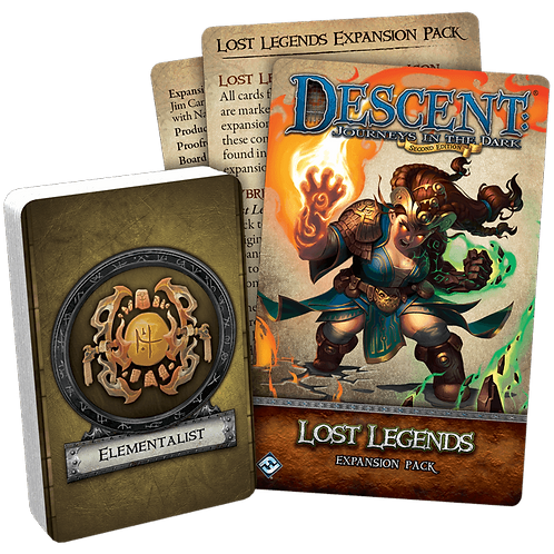 Descent Journeys in the Dark: Lost Legends (Exp)