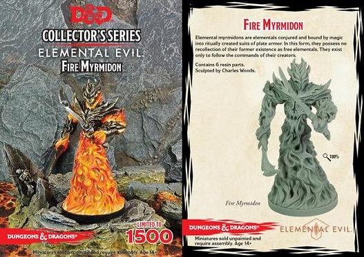 D&D Collectors Series Temple of Elemental Evil Fire Myrmidon