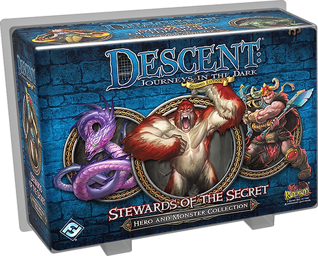 Descent: Journeys in the Dark (Second Edition) – Stewards of the Secret(Exp.)