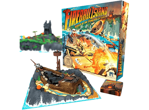 Fireball Island: The Curse of Vul-Kar - Wreck of the Crimson Cutlass (Exp)