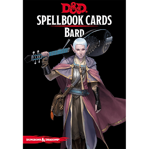 Dungeons and Dragons: Spellbook Cards - Bard