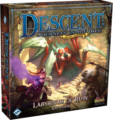 Descent: Journeys in the Dark (Second Edition) – Labyrinth of Ruin(Exp.)